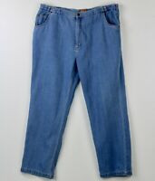 "Haband Tailgater Mens Blue Jeans 44 X 32 Waist Expands 4-5"" Thanksgiving Dinner"