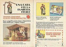 X9591 Una casa per la Famiglia Felice - Pubblicità 1975 - Advertising