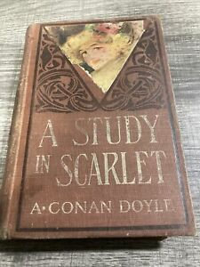 A Study In Scarlet, A. Conan Doyle, Sherlock Holmes, M.A. Donahue & Company