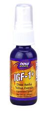 Igf-1+ lipospray - 1oz (30 ml) - Now Foods