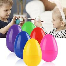 24Pc Colourful Fillable Plastic Surprise Easter Eggs Holiday Easter Kids Gifts