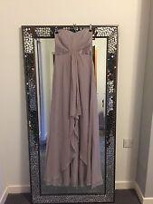 Coast Grey Maxi Dress Size 6