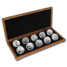 2017 10-Coin Silver 1 oz Around the World Bullion Set - SKU #131876