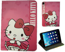 For iPad Pro 9.7'' - iPad 9.7 - iPad Air 1 2 Hello Kitty Pink Cat New Case Cover