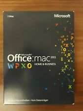 Microsoft MAC Office 2011 Home and Business / PKC / Vollversion W6F-00189