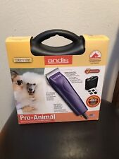 7-Piece Pet Grooming Clipper Kit Andis Pro Animal Detachable Ceramic Blade NEW