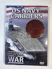 US NAVY CARRIERS - Weapons of War With Booklet - New And Sealed - Perfect Cond.