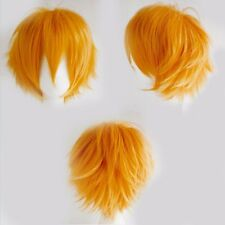 Anime Costume Cosplay Wigs Short Synthetic Hair Full Wigs Heat Resistant Hair US