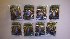 HALO Mega Bloks full set of 8 Series 4 with very rare cortana