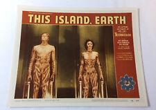 glossy 8x10 photo of lobby card ~ THIS ISLAND EARTH