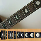Fret Markers Inlay Sticker Decal Guitar & Bass Neck - Moon Phases Block  /F105