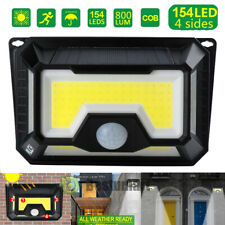 Led Solar Power Outdoor Light Motion Sensor Security Floodlight 10000Lm 3-Head A