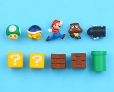 10pcs/Set Super Mario Magnet Sticker Home Decor Fridge Magnet Refrigerator