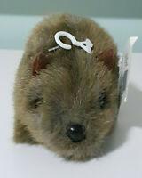 Grab A Jumbuck Wombat Plush Toy w/ Swing Tag 11cm Long x 8cm Tall!