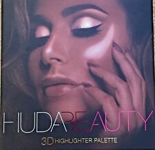 Brand New, Authentic,  Huda Beauty 3D Highlighter Palette Golden Sand Edition