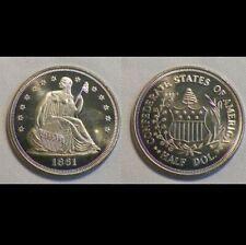 1861 Confederate States of America Half Dollar Coin token Fantasy CSA Civil War