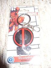 "Marvel Deadpool Keyring - 1 3/4"" diameter - Monogram International"