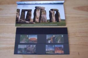 World Heritage Sites Royal Mail Mint Stamps UK England Historical Collection