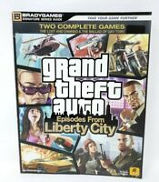 Grand Theft Auto Episodes From Liberty City Official Brady Games Strategy Guide