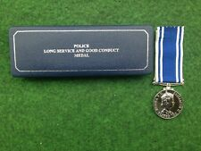 More details for british police qeii named long service medal exemplary conduct