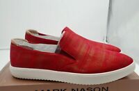 Mark Nason Los Angeles Women's Holiday Sneaker Red size 9.5 M