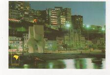 Brazil Salvador Vista Noturna Praca Visconde de Cairu Postcard 780a