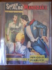 Super Albo Mandrake n°58 1963 Edizioni Spada [G258] mediocre
