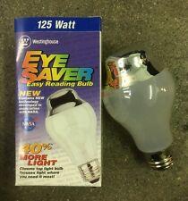 Westinghouse 07300 AT19 125W 120V EyeSaver Frost/Half-Silver Light Bulb