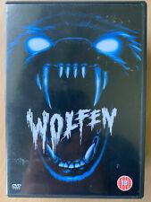 Wolfen DVD 1981 Cult New York Werewolf Horror Classic with Albert Finney