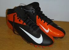 Men's Nike Vapor Talon Elite 3/4 TD Football Cleats (Molded),Brown,Orange, SZ 16