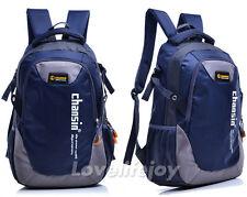30l Men Women Sports Travel Backpack Laptop Bag Satchel Schoolbag Daypack Navy Blue