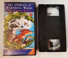 The Animals Of Farthing Wood From Copse To Quarry Vol 2 PAL VHS Video Tape 1992