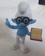 "BRAINY Smurf McDonalds Toy Figure 3"" Cake Topper Toys 2013"