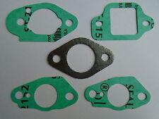 Carburador Junta conjunto se ajusta a Honda HRX537 GCV160 GC 160 Pcs 135 Pcs Izy Hrx 537