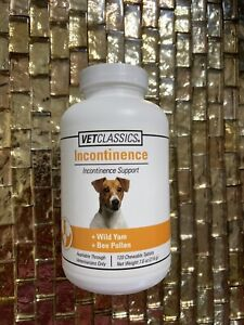 Vet Classics Canine Incontinence Support - 120 Chewable Tablets