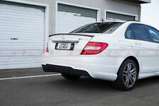 AMG Style ABS Spoiler For MY11-15 Mercedes-Benz W204 C-Class Sedan (S. BLACK)