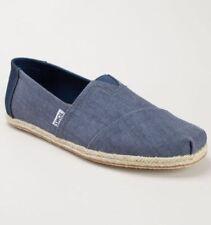 Scarpe da uomo espadrillas blu Tom's