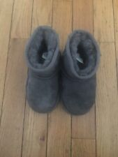 Grey Classic UGG Boots Size U.S. Toddler 7
