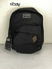 "Dakine 365 PACK 21L Black Brown Patch Zipper Closures 15"" Laptop Sleeve Backpack"