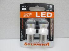 Sylvania ZEVO LED Light 1156LED.BP2 White 6000K Two Bulbs Front Turn Signal