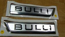 "VW Original T6 Lettering ""Bulli"" Badge Logo Lettering Aluminium matt Set"