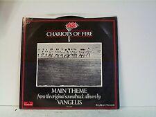 "VANGELIS ""CHARIOTS OF FIRE / ERIC'S THEME"" 45/wPS"