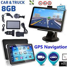 New 7 inch GPS SAT NAV Car Navigation System Newest AU EU Maps Free Update FM