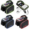 """Cycling Bike Phone Holder 6.2"""" Touch Screen Bag Case for IPhone Mobile Phone GPS"""