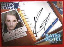 BATES MOTEL - RICHARD HARMON, Richard Sylmore [BLACK INK] Autograph Card - ARH1