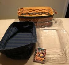 Longaberger 1997 Collectors Club Welcome Home Basket Combo 10x15� Excellent!