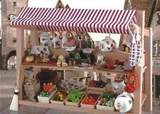 Market Stall ~ Stunning 1/12th Scale Miniature By Reutter Porzellan!!