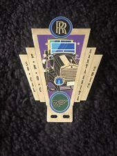 Rolls-Royce Owners Club RROC Southern California Region Enamel Badge 2012 Meet