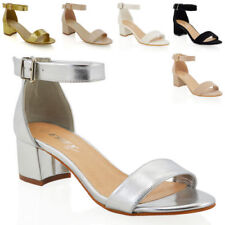 Essex Glam Synthetic Strappy, Ankle Straps Heels for Women