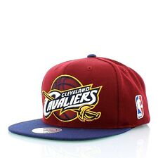 Cleveland Cavaliers NBA Mitchell and Ness  2 Tone XL Logo Snapback Hat Cap